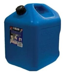 Great Midwest Can 5 Gallon Jerry Can Gas Gasoline Fuel Oil Water Diesel Storage