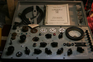 Hickok Military Tv 7d u Tv 7a u Tv 7b u Tv 7 u Tube Tester Calibration Service