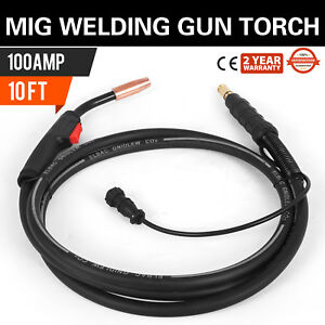 Mig Welding Gun 100a 10 K530 6 Replacement Torch For Lincoln 100l Us Seller