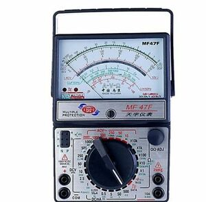 New Mf47f Ac Dc Voltmeter Ammeter Ohmmeter Analogue Multimeter Ampere Voltage