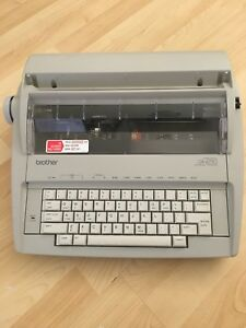Brother Correctronic Gx 6750 Electronic Typewriter Great Condition