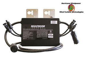 Magnum Me mgt500 Dual Mc4 Inputs Micro inverter 500w 240vac Grid Tie Solar Power