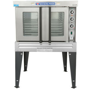 60 000 Btu 5 Pan Single Deck Full Size Natural Gas Commercial Convection Oven