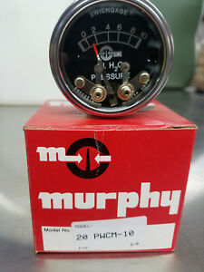 20pwcm 10 Murphygage Switch Water Pressure Gauge New Part