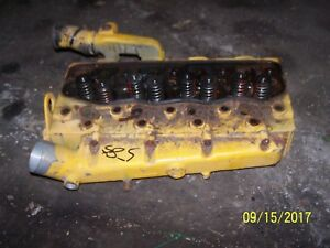 Case International 584 585 Tractor Diesel Engine Head Only Not Intake Manifold
