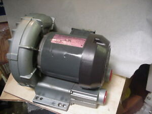 Gast R3 R3305 1 3ph 208 230 460v 1 2hp Regenair Regenerative Air Blower Vacuum