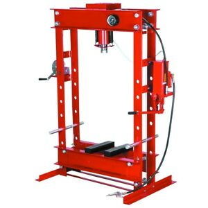 Central Hydraulics 50 Ton Hydraulic Heavy Duty Floor Shop Press