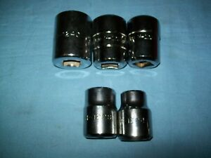 Lot 5 Williams 3 4 Drive 12 point Socket 3 4 7 8 1 1 16 1 1 8 1 1 4 Unused
