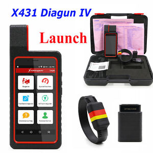 Launch X431 Diagun Iv Code Scanner Obdii Diagnotist Tools 2 Years Free Update