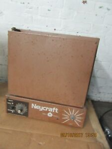 Neycraft Jff 2000 Fiber Furnace For Wax Burnout Enameling And Heat Treating