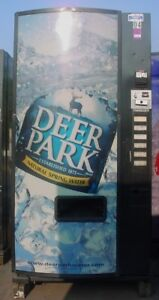 Dixie Narco Cold Drink Soda Vending Machine Sells Bottles And Cans
