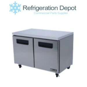 Blue Air Bluf48 Under counter Freezer Two Door 13 Cu ft