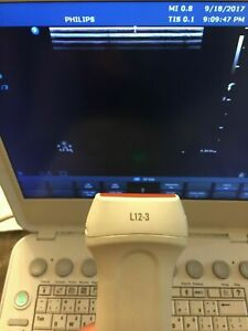 Philips L12 3 Vascular Linear Msk Ultrasound Transducer For Cx50