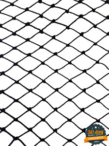 50 Square Strong Metal Mesh Netting For Anti Bird Poultry Area Protection Black
