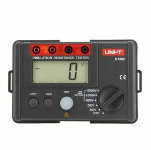 Uni t Ut502a Digital Insulation Resistance Meter Tester Voltmeter New Original