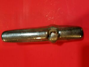 Plymouth Bumper Guard Vintage 1949 With Square Head Bolt