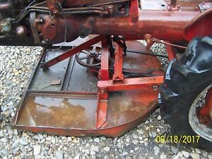 Cub Farmall Belly Mower Not Tractor And Mower