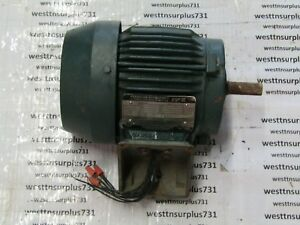Toshiba Induction Motor B3 46flf2amh03 3 4hp 230 460v 1160rpm used