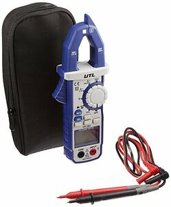 Uei Test Equipment Utl291 Clamp On Multimeter With Temperature