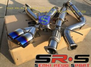 Srs Type R1 Catback Exhaust System For 13 17 Ford Focus St 2 0l Turbo 3 Burn