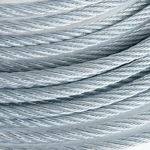 1 2 Galvanized Wire Rope Steel Cable Iwrc 6x19 2000 Feet