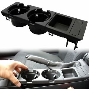 New Center Console Drink Cup Coin Holder Storage Box For Bmw E46 3 Series 99 06