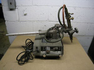 Used Victor Vcm200 Portable Torch Cutting Machine W Victor Mt210 Free Shipping