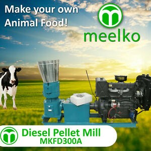 Pellet Mill For Cow Food Mkfd300a Free Shipping
