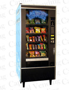 National Vendors Snack Machine Configured To Sell Laundry Supplies