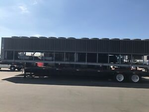 400 Ton Trane Chiller Model Rtaa Air Cooled Trailer Included