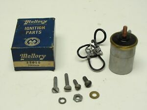 Nos Mallory Ignition Special Condenser 25010 Hot Rod Flathead 1932 1940 1957