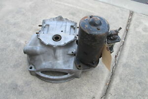 Porsche 356 912 Starter Bellhousing For Engine Testing