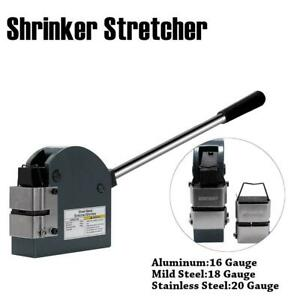 Industrial Shrinker Stretcher 16 18 20 ga Metal Forming Shrinker Stretcher