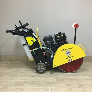 20 Walkbehind Concrete Saw 13hp Electric Start Concrete Cutter Free Shipping