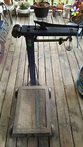 Vintage Fairbanks Platform Scale Standard No 10 1000 Ibs Capacity