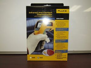 Fluke 568 Infrared And Contact Thermometer 28d