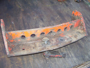 Vintage Ji Case 400 Diesel Tractor swing Drawbar Support 1955