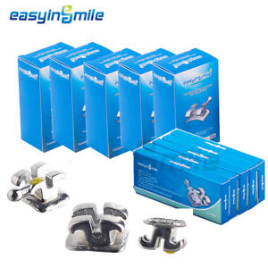 25x Easyinsmile Dental Orthodontic Metal Bracket Mini Brace Roth 022 3 4 5 Hook