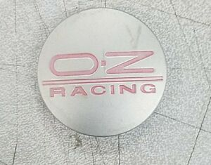 Oz Racing Center Cap Silver 582
