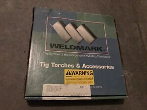 New Weldmark Air Cooled Tig Torch 26 12 2 200 Amp 12 1 2 Foot 2 Pc
