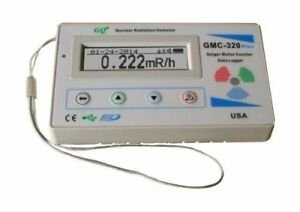 Geiger Counter Nulcear Radiation Detector Meter Beta Gamma X Ray Test Equipment