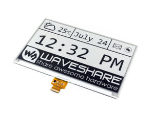 Waveshare 7 5inch E ink Raw Display Spi E paper 640 384 For Raspberry Pi arduino