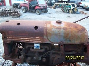 International farmall Cub Tractor Hood And Tank Assm