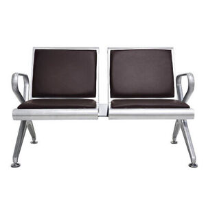 2 3 seat Airport Office Reception Waiting Room Chair Bank Hospital Clinic Bench