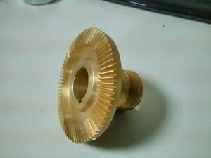 Bevel Bronze Gear For Servo Power Feed Feeder Feeds On Bridgeport Mills new