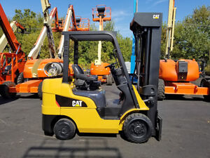 2012 Cat Caterpillar 2c6000 6000lb Cushion Forklift Lpg Lift Truck Hi Lo 94 276