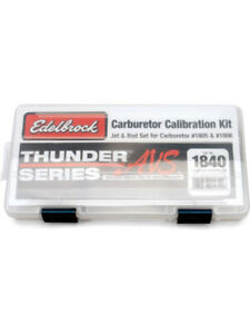 Edelbrock Calibration Kit For1805 And 1806 Thunder Series Avs Carburettor 1840
