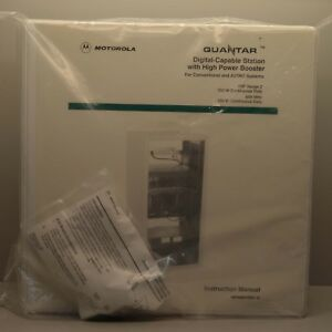 Motorola Quantar Manual 68p80801d55 a New
