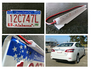 Hide Away License Plate Number Led Infrared Lights F Car Privacy Protect 2pcs