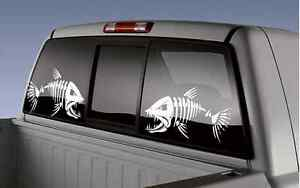 2 Bone Fish Sticker Decal Size 8 X 12 Bone Fish Decal Fishing Boat Watercraft
